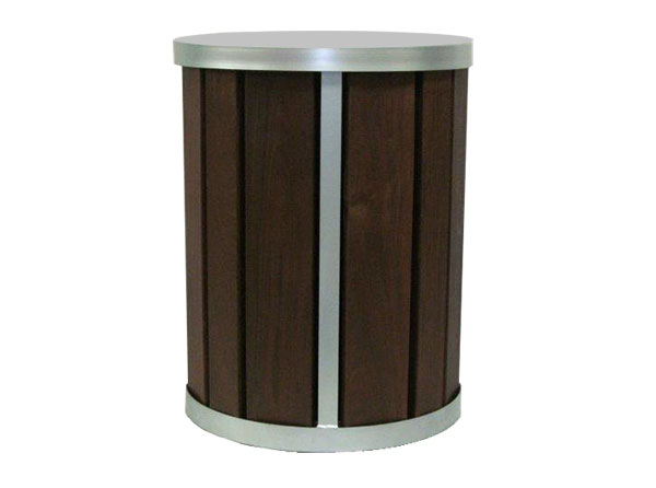 Verve litter receptacle cut