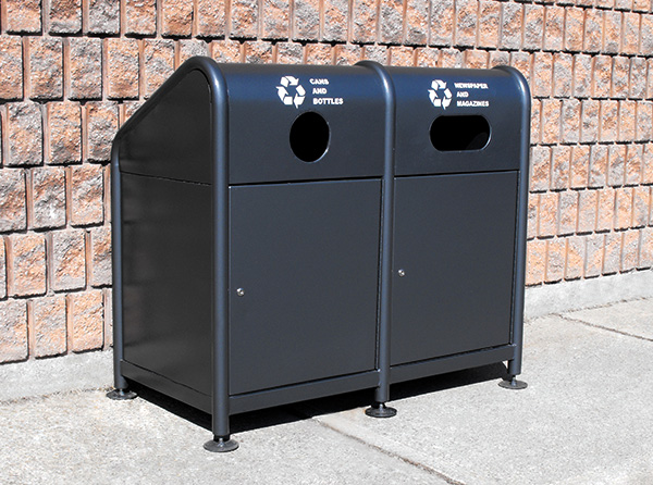 Recycling SteelEnclosedStation