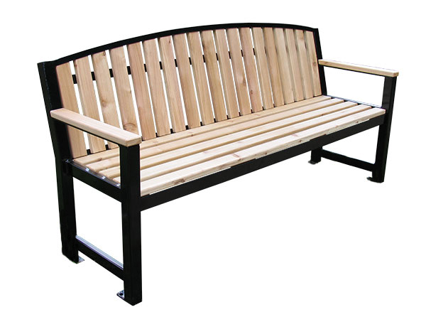 Regency_Bench_Arched Back_Cut