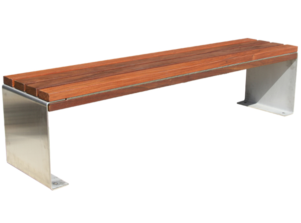 Inox backless bench cut2