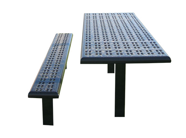 Sports bench table combo cut