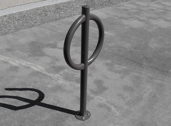 Pedestal bike rack 2