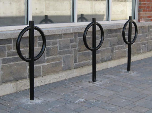 Pedestal bike rack 3