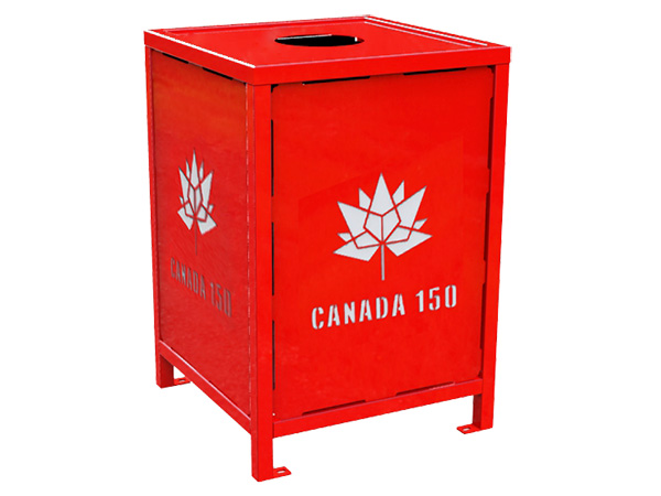 Thumbnails_canada 150 regency litter receptacle red