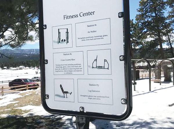 Signage_Fitness Park Information Sign_Example3