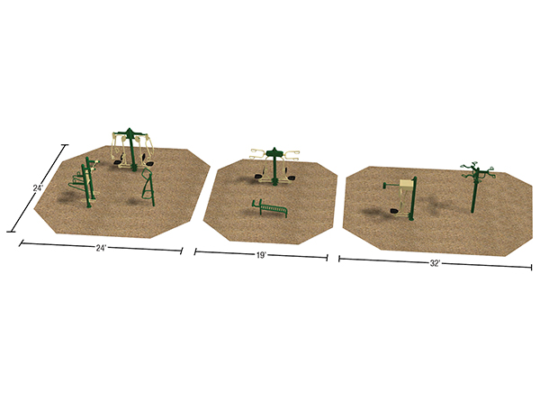 Sample Layout_Fitness Park_Fitness Trail
