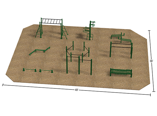 Sample Layout_Fitness Park_Static