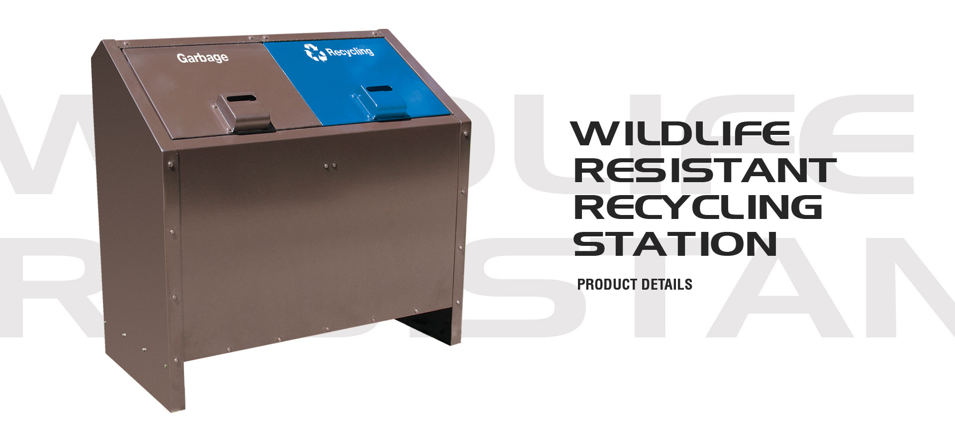 Wildlife Resistant Recycling